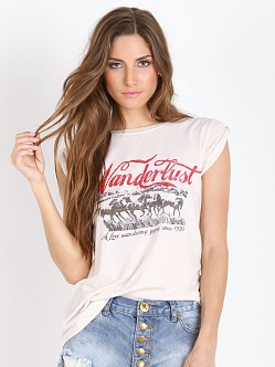 Spell Wanderlust Road Trippin Tee White