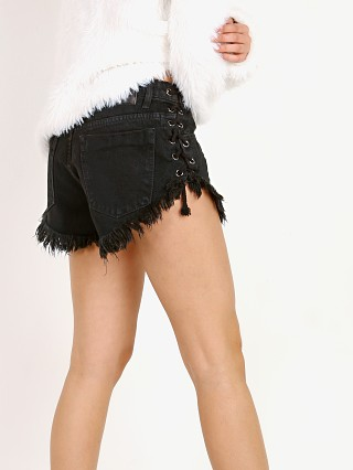 One Teaspoon Brandoes Relaxed Fit Short Black