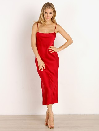 Bec & Bridge Girl Talk Slip Dress Crimson