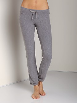 WILDFOX Malibu Skinny Basic Pants Vintage Grey