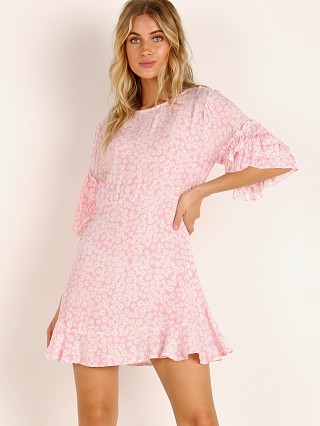 Faithfull the Brand Serafina Mini Dress Dusty Floral Print