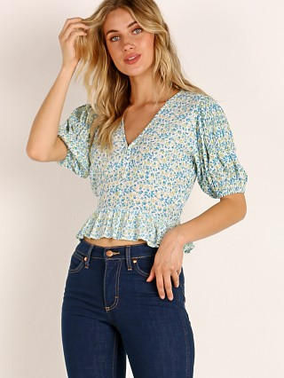 Faithfull the Brand Mona Top Tilde Floral Print