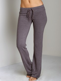 Splendid Always Active Fleece Drawstring Pant Shadow