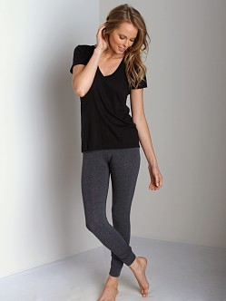 Splendid Long Leggings Charcoal
