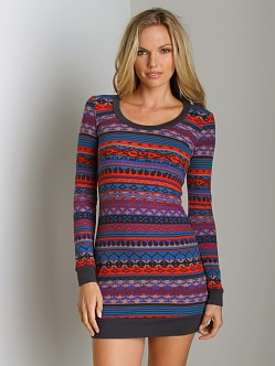 Splendid Breckenridge Thermal Tunic Grenadine