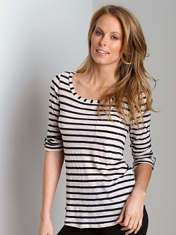 Splendid Vintage Stripe Long Sleeve Swan