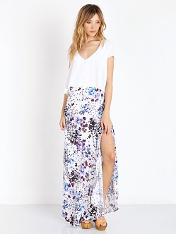 Flynn Skye Wrap it Up Skirt Light Flower