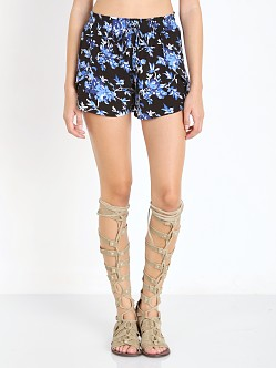Flynn Skye Get Waisted Shorts Dark Flower