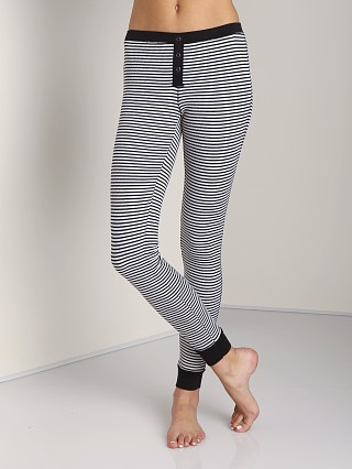 Splendid Skinny Stripe Legging Sand Dollar
