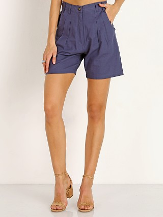 Complete the look: Jen's Pirate Booty Blossom Shorts Navy Linen