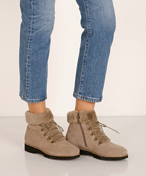 Blondo Rachael Waterproof Boot Mushroom Suede