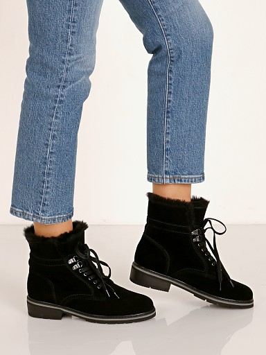 Blondo Vedette Waterproof Boot Black Suede