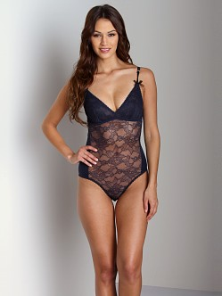 Stella McCartney Lara Stripping Bodysuit Navy
