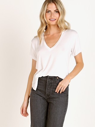 You may also like: Joah Brown Classic V Neck White