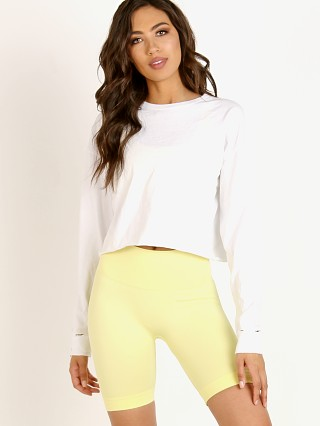 Joah Brown Soho Cotton Long Sleeve Optic White