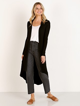 Joah Brown Soleil Cardigan Black Rib