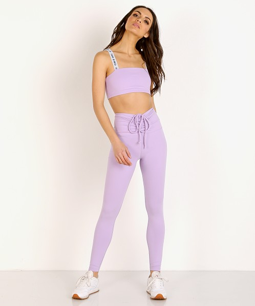 Year of Ours Ruched Legging Lilac