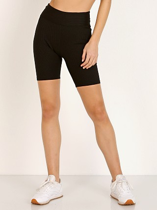 Complete the look: Year of Ours Ribbed Biker Short Black
