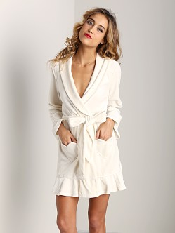 Juicy Couture Velour Robe Angel