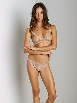 Only Hearts So Fine Lace Bralette Caramel