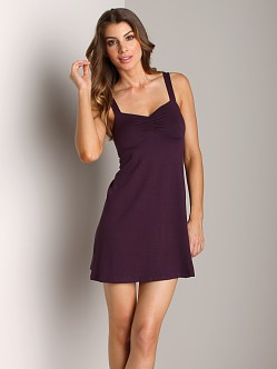 Only Hearts So Fine Pinched Front Chemise Plum