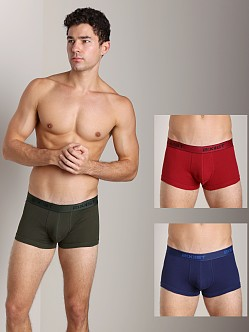 2xist 3-Pack No-Show Trunks Mountain/Cranberry/Blue