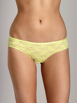 Complete the look: Cheap Monday Lace Mini Hipster Sunny Lime