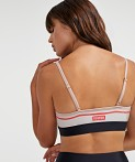 PE NATION Sweeper Sports Bra White Beige, view 4