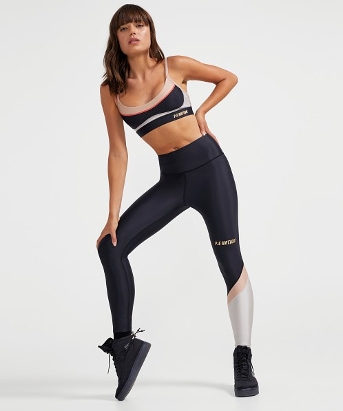 PE NATION Sweeper Legging Black