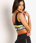PE NATION Opponent Sports Bra Black, view 4
