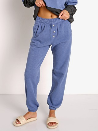 Model in indigo DONNI. Vintage Fleece Jogger