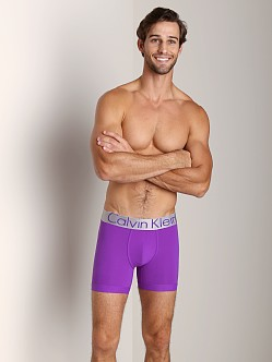 Calvin Klein Steel Micro Boxer Brief Purple Sage Tea