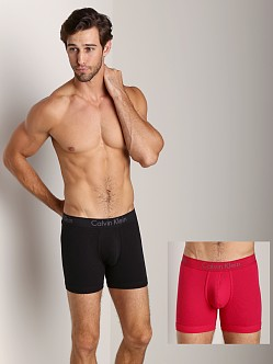 Calvin Klein Body 2-Pack Boxer Brief Black/Flame Red