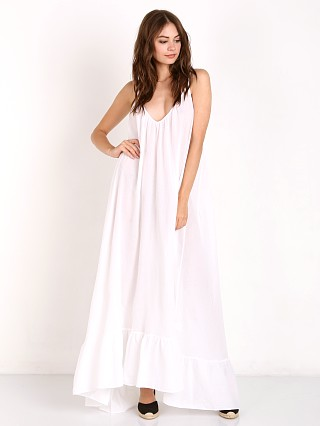 9Seed Paloma Maxi with Ruffle White