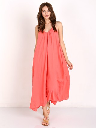 9Seed Santorini T Back Maxi with Braid Peony