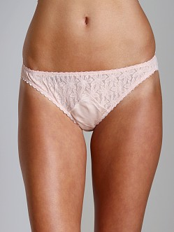 Lonely Triangle Insert Brief Apricot Floral Mesh