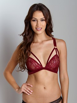 Lonely Cut Out Triangle Bra Grape