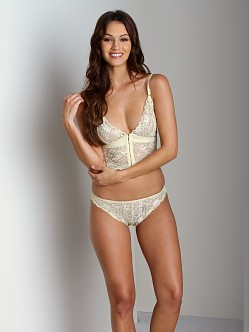 Lonely Leavers Lace Brief Butter