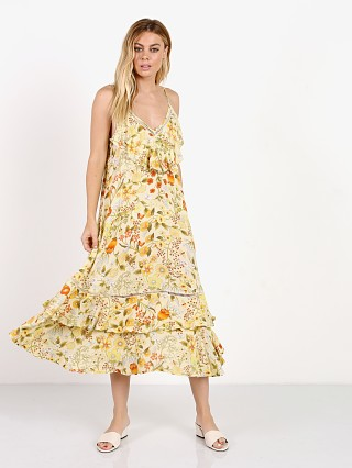 Spell Sayulita Frill Maxi Dress Sunflower