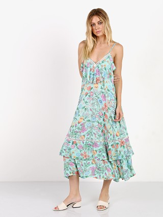 Spell Sayulita Frill Maxi Dress Birthstone