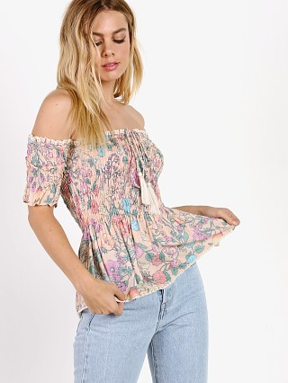 Spell & The Gypsy Sayulita Ruched Cami Musk