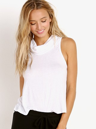 Joah Brown High Society Tank White Rib