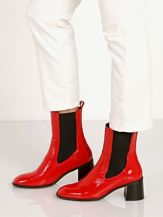 E8 by Miista Tea Boot Red Patent