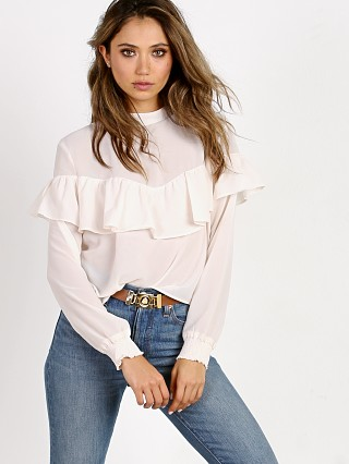 Wyldr Leave a Trace Blouse Ivory