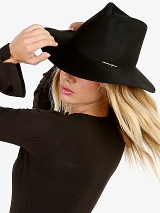 You may also like: Janessa Leone Sean Fedora Black