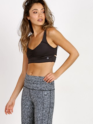 Maaji Twist Back Reversible Sports Bra Black