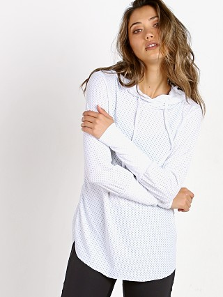 Maaji Waves Mesh Long Sleeve White