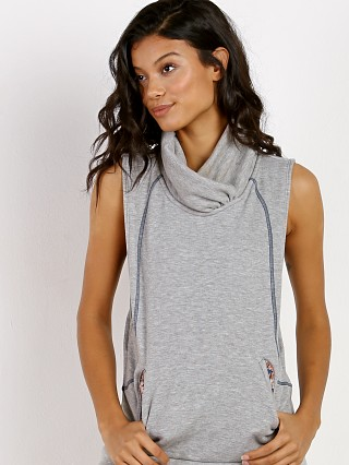 Maaji Vest Rain Water Light Gray