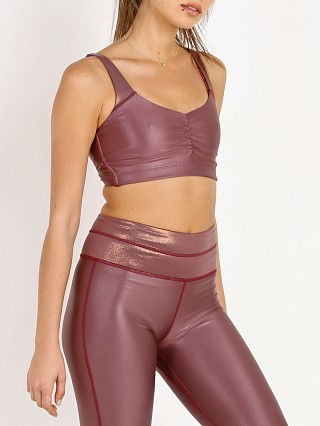 Complete the look: Maaji Twist Back Reversible Sports Bra Dark Pink
