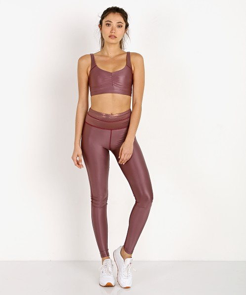 Maaji Reversible High Rise Legging Liquid Pink